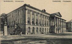 Warszawa przedwojenna - Uniwersytet