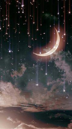 48 Trendy Ideas For Nature Sky Stars Beautiful Moon