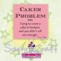 Caker Problem :-)  #cakedecorating #sugarcraft #hostessprosugarcraft  www.hostesspro.co.za