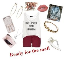 """""""Untitled #31"""" by jujubees51901 on Polyvore featuring Michael Kors, Jennifer Behr, Bebe, Pandora and Lime Crime"""