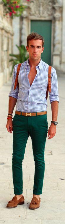 Green & tiles
