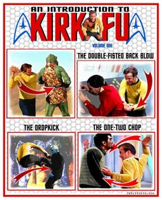 An Introduction to Kirk Fu - where Krewe de Fu and Chewbacchus crash together!