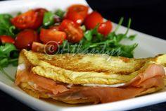 Terapia do Tacho: Crepe de salmão fumado com queijo quark (Smoked salmon crepe with quark cheese)