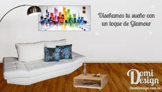 Solo en Domi Design Diseñamos tu sueño con un toque de glamour, todo en muebles y accesorios para el hogar