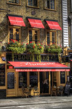 Boulevard Brasserie, Covent Garden, London