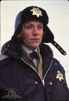 Still of Frances McDormand in Fargo, Joel & Ethan Coen.; love this movie.