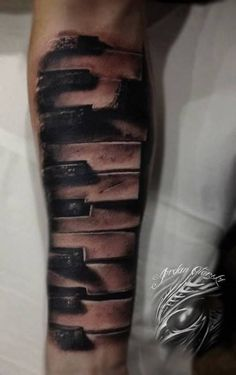 Many people share a love of tattoos with a love of music, so a design inspired by music makes a wonderful and personal tattoo. Your music t...