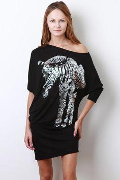 Love this zebra dress