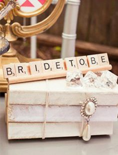 Vintage Bridal Shower Games | Gallery -> Bridal Shower Themes -> Scrabble Theme