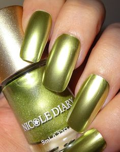 Wendy's Delights: NICOLE DIARY - Satin Chrome / Foil Effect Nail Polishes Foil Nails, Polished Look, Nail Polishes, Natural Nails, You Nailed It, My Nails, Chrome, How To Apply, Satin