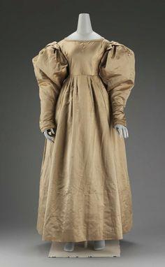 Dress, 1827. American. Silk. MFA