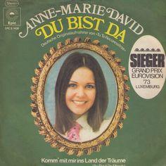 """""""Du bist da"""" - den tyske originalversion af Eurovision-vinderen 1973"""