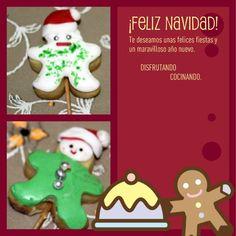 Galletas Muñecos de navidad