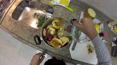 Chá de frutas frescas