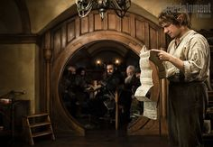 The Hobbit. I won't even try to pretend I'm not excited about this!