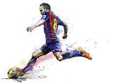 Andrès Iniesta on Behance