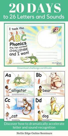 See video 20 Days to Mastery with 26 Letters and Sounds! See how to easily work this into your kindergarten day. Step-by-step strategy to teach the alphabet to kindergartners! Teaching The Alphabet, Teaching Kids, Abc Alphabet, Foundation Online, Singing Lessons, Singing Tips, Phonics Song, Professional Development For Teachers, Baby Sign Language