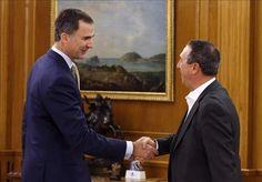 """El rey traslada a los partidos que """"debería ser Mariano Rajoy"""" el primero en intentar la investidura"""