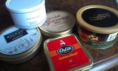 Balkan Sasieni, Cornell & Diehl Pirate Kake, Dunhill My Mixture 965, Heart and Home Larry's Blend, Orlik Golden Sliced Red