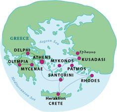 11 Day Greece Tour with Cruise. Featuring Athens, Delphi, Cruise to Mykonos, Crete & Santorini. Book Now with smarTours