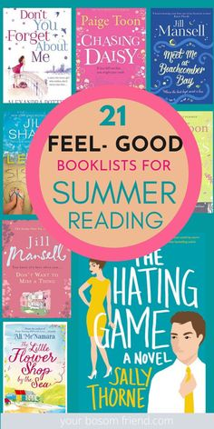 Summer Books, Summer Reading Lists, Beach Reading, Good Summer Reads, Love Reading, Feel Good Books, Good Romance Books, Books To Read For Women, Best Books To Read