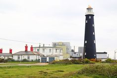 George V, the grandson of Queen Victoria and Prince Albert, opened this lighthouse in 1904, built to replace a 1792 structure.
