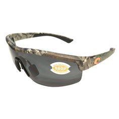 0a05590a3da25 Costa Del Mar Straits Sunglasses Realtree - Xtra Camo Frame - Polarized  Gray Lens 580P