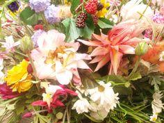 En una floristería en Salzburgo