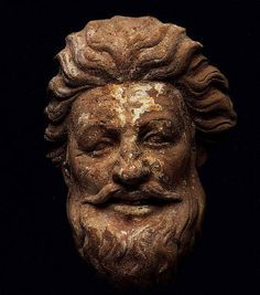 Parthian_Head_from_Bactria  greco gandhara