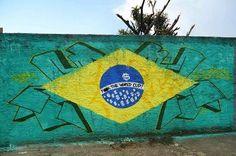 Graffitis Protestando Contra El Mundial De Brasil