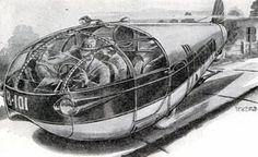 Retrofuturism: Motor Vehicles - Cars