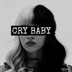 black and white, cry baby, lyrics, melanie martinez, music