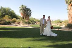 Wedding of Farron + Brady #golfcoursewedding #outdoorwedding #palmspringsweddings #palmspringsweddingvenues