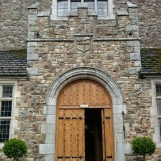 Front Door of Waterford Castle, Ireland Waterford Castle, Castle Doors, Door Knockers, Doorway, Amazing Architecture, Entrance, Places To Go, Entryway, Garage Doors