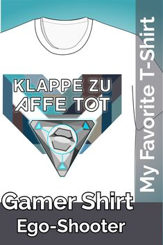 T-Shirt Klappe zu Affe tot ist ein cooler Spruch für Computer Gamer von Free-to-play Multiplayer Ego-Shooter. auf amazon oder Gesichtsmaske auf spreadshirt #egoshooter #gamer #cool #tshirt #amazon #gesichtsmaske #mauspad T Shirt Designs, Gamer T-shirt, Rote T-shirts, Computer, Crop Tops, Sweatshirts, Fashion, Mousepad, Cool Sayings
