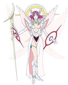 Shingeki no Bahamut - Genesis Personagem: URIEL.