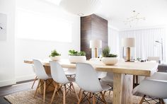 Love this dining room! Photo Cred: Home Polish