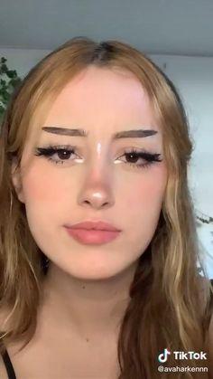 Edgy Makeup, Grunge Makeup, Skin Makeup, Makeup Inspo, Makeup Inspiration, Makeup Tips, Cool Makeup Looks, Cute Makeup, Pretty Makeup