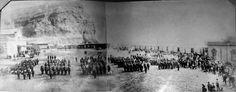 Tropas chilenas en Arica 180 San Martin, Plaza, Bolivia, Photo Wall, War Of The Pacific, Historia, Bicycle Kick, Antique Photos, Souvenirs