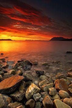 Midnight Sun, Troms Fylke, Norway