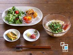「納豆そうめんと長芋の甘辛焼き」ブランチ|うーらオフィシャルブログ「うーらのオーガニックレシピ手帖」Powered by Ameba