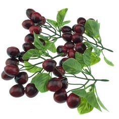 Gresorth 4 String Artificial Artificial Fruit Red Cherries Bunch Christmas Decoration >>> Details can be found by clicking on the image.