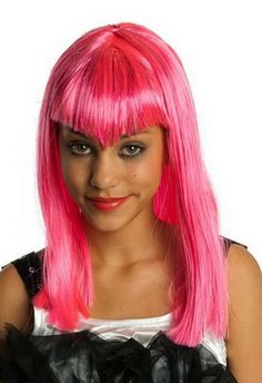Child's Pink Glitter Vamp Wig * Read more at the image link. (This is an affiliate link) Clever Halloween Costumes, Halloween Wigs, Halloween 2015, Scary Halloween, Dress Up Costumes, Costume Wigs, Costume Ideas, Funny Wigs, Kids Wigs