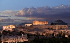 Acropolis monument in Greece by Petesaloutos, via Dreamstime Attica Greece, Athens Greece, Cool Photos, Beautiful Pictures, European Destination, Acropolis, Photo Online, Monument Valley, Cruise