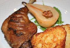 Meat Recipes, Cake Recipes, Poultry, Baked Potato, Steak, French Toast, Bacon, Pork, Food And Drink