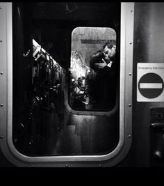 Vintage Train Kiss