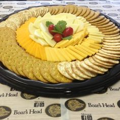Cheese & Crackers Platter - Yelp