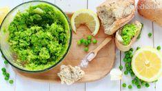 Hráškovo-avokádová nátierka - Recept