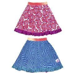 TwirlyGirl - Reversible Twirly Ruffle Skirt Colorful Skirts For Girls | Colorful Joyous Song, $66.00 (http://www.twirlygirlshop.com/colorful-skirts-for-girls)