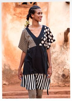 """Virvla"" organic cotton top – Blouses & waistcoats – GUDRUN SJÖDÉN – Webshop, mail order and boutiques 
